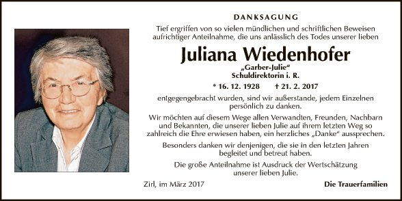 Juliana Wiedenhofer