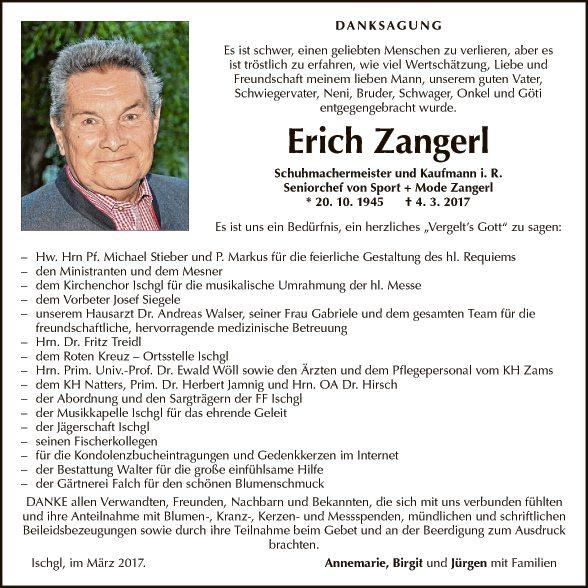 Erich Zangerl