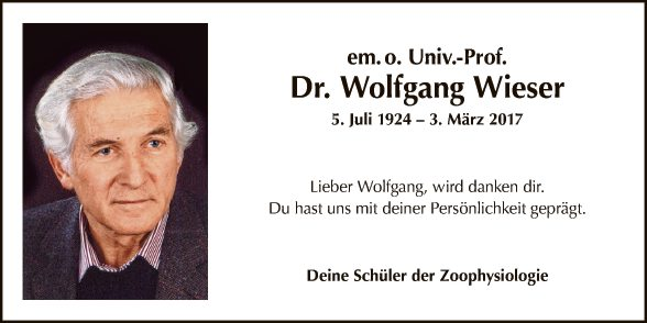 Dr. Wolfgang Wieser
