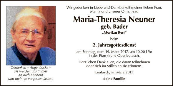 Maria-Theresia Neuner