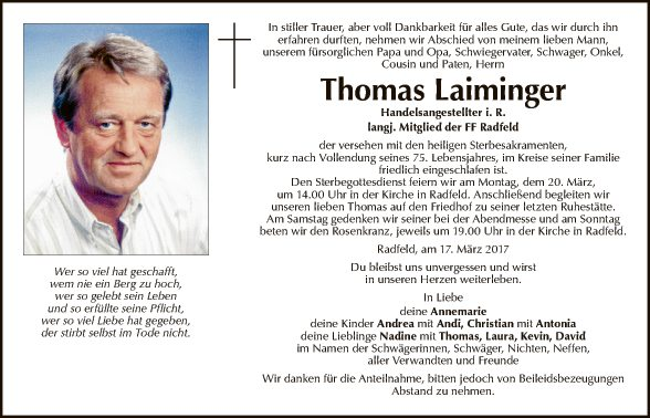 Thomas Laiminger