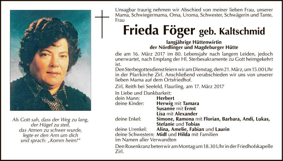 Frieda Föger