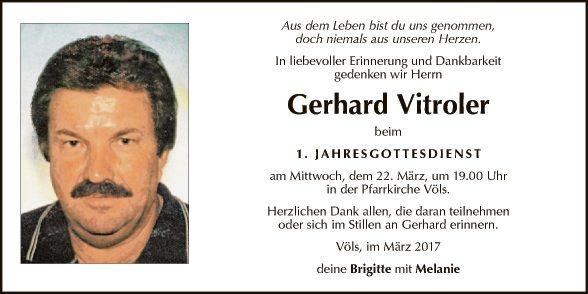 Gerhard Vitroler