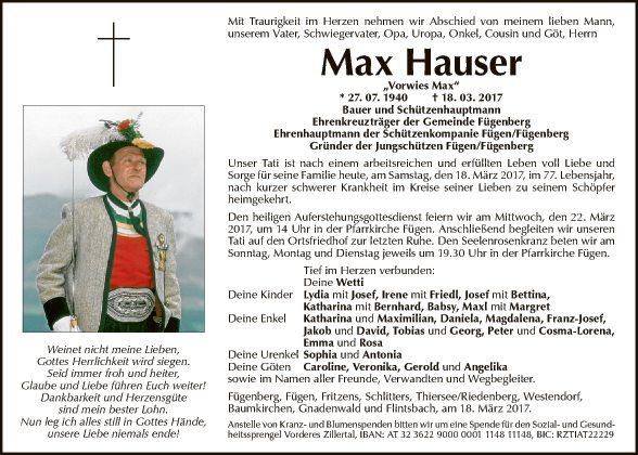 Max Hauser