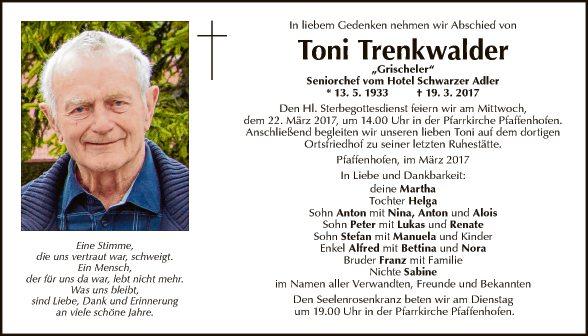 Toni Trenkwalder
