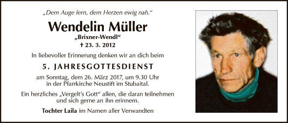Wendelin Müller