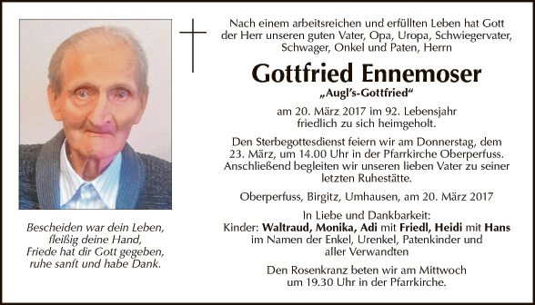 Gottfried Ennemoser