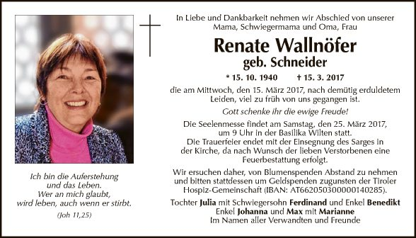 Renate Wallnöfer