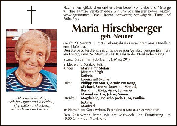 Maria Hirschberger