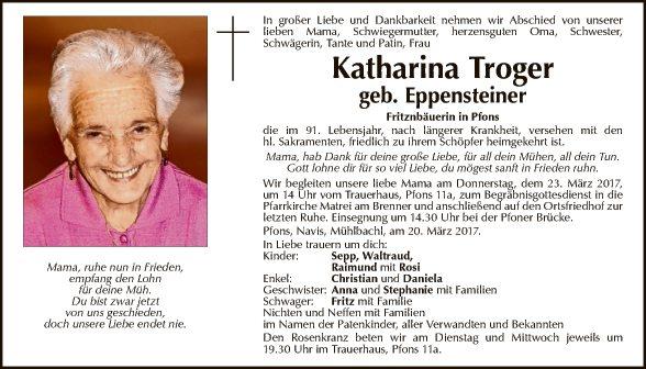 Katharina Troger