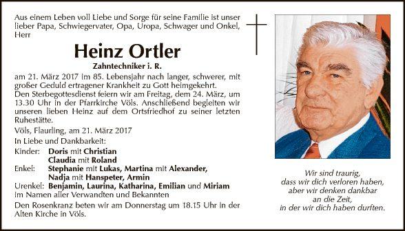 Heinz Ortler