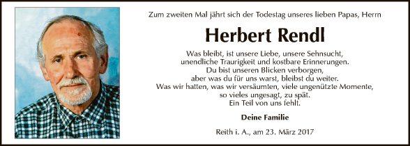 Herbert Rendl