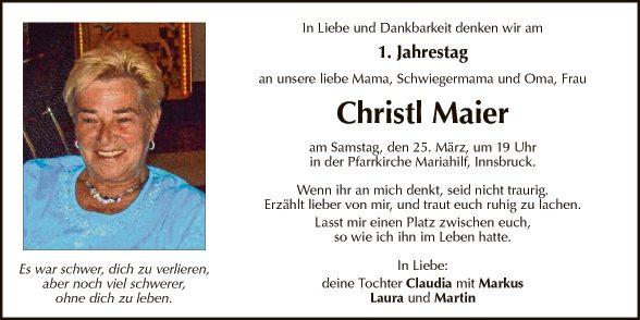 Christl Maier