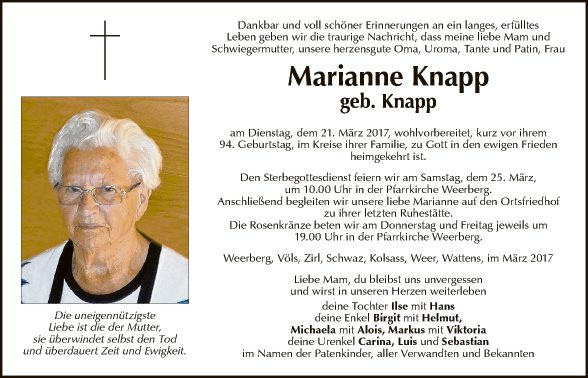 Marianne Knapp