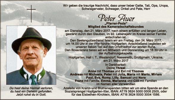 Peter Auer