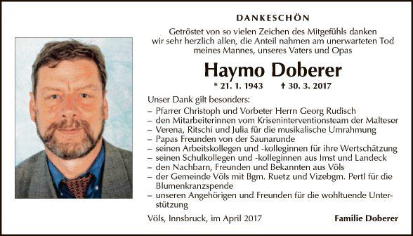 Haymo Doberer