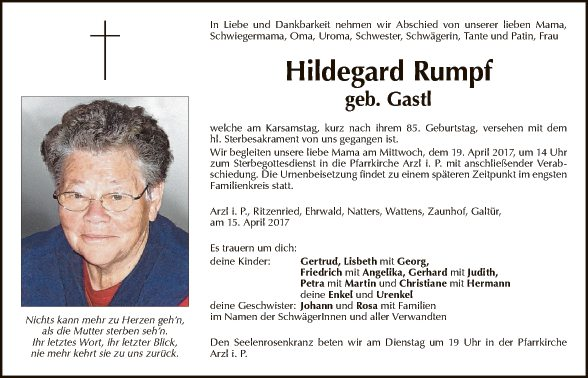 Hildegard Rumpf