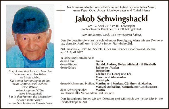 Jakob Schwingshackl