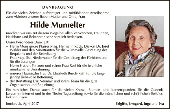 Hilde Mumelter