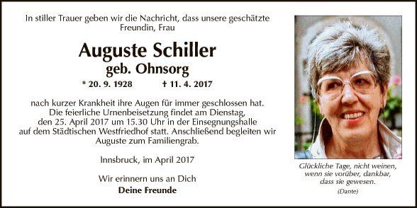 Auguste Schiller