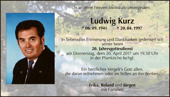 Ludwig Kurz