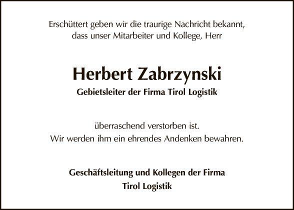 Herbert Zabrzynski
