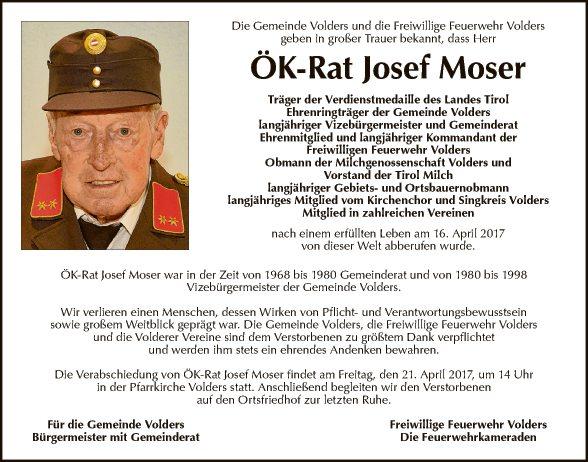 ÖK-Rat Josef Moser