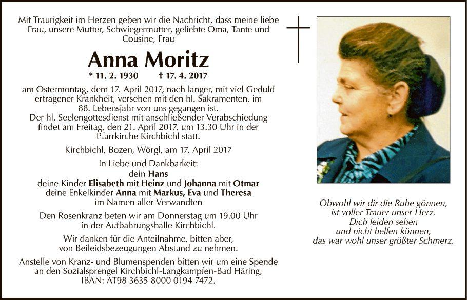 Anna Moritz