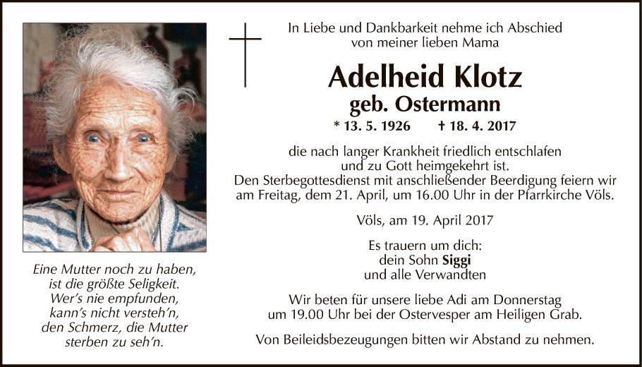 Adelheid Klotz