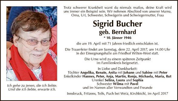 Sigrid Bucher