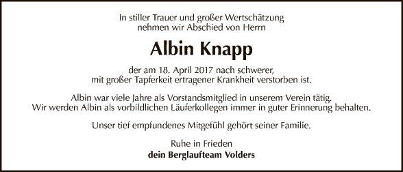 Albin Knapp