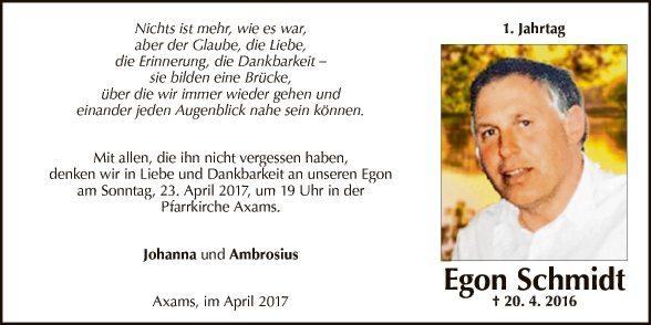 Egon Schmidt