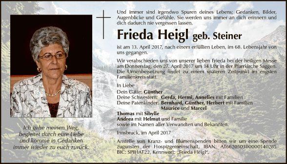Frieda Heigl
