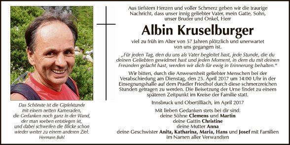 Albin Kruselburger