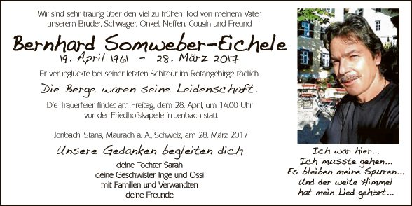 Bernhard Somweber-Eichele