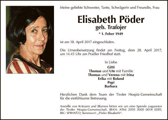 Elisabeth Pöder