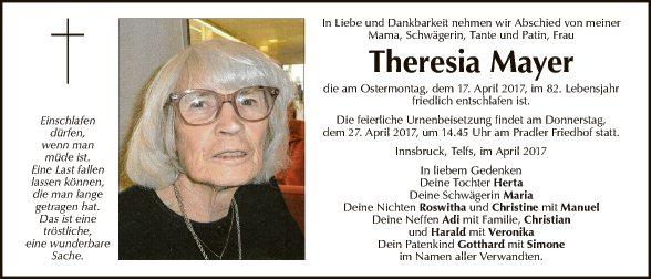 Theresia Mayer