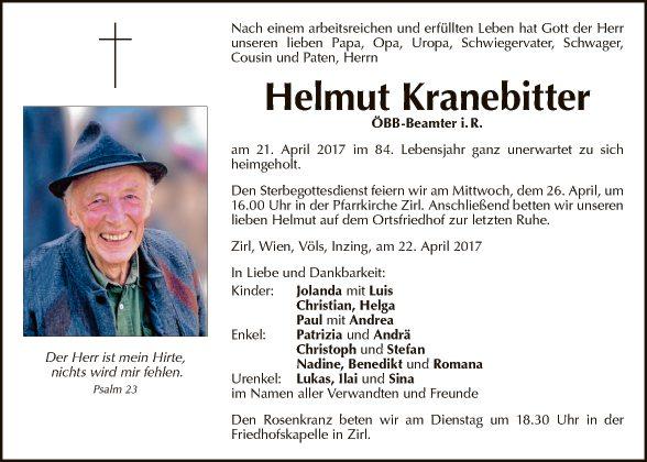 Helmut Kranebitter