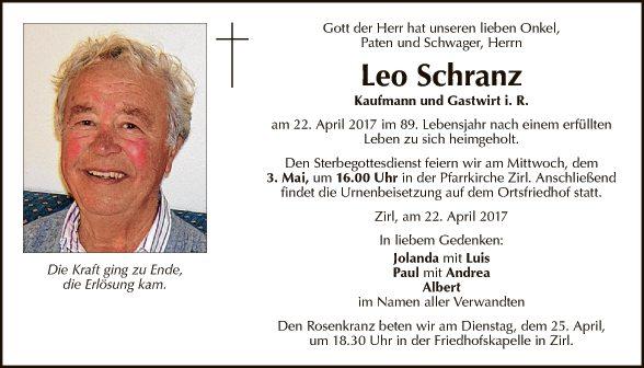 Leo Schranz