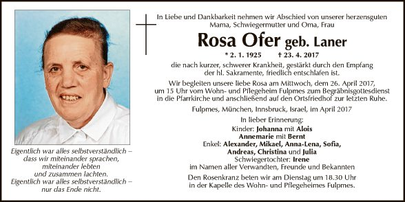 Rosa Ofer