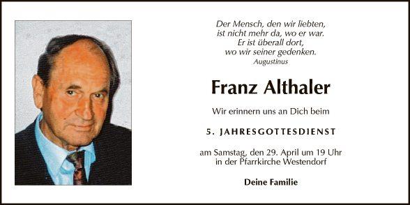 Franz Althaler