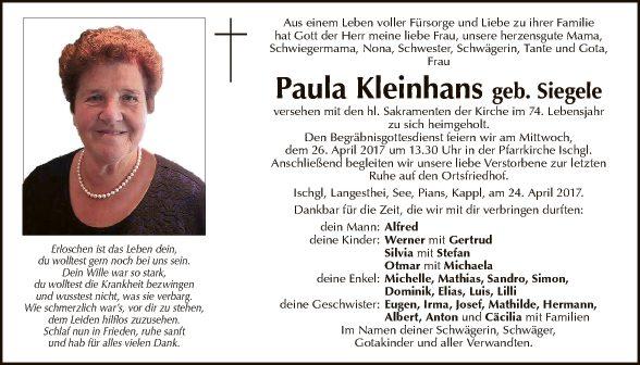 Paula Kleinhans