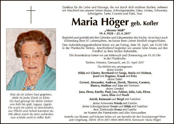 Maria Höger
