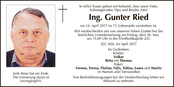 Ing. Gunter Ried