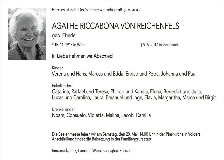 Agathe Riccabona