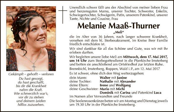 Melanie Maaß-Thurner