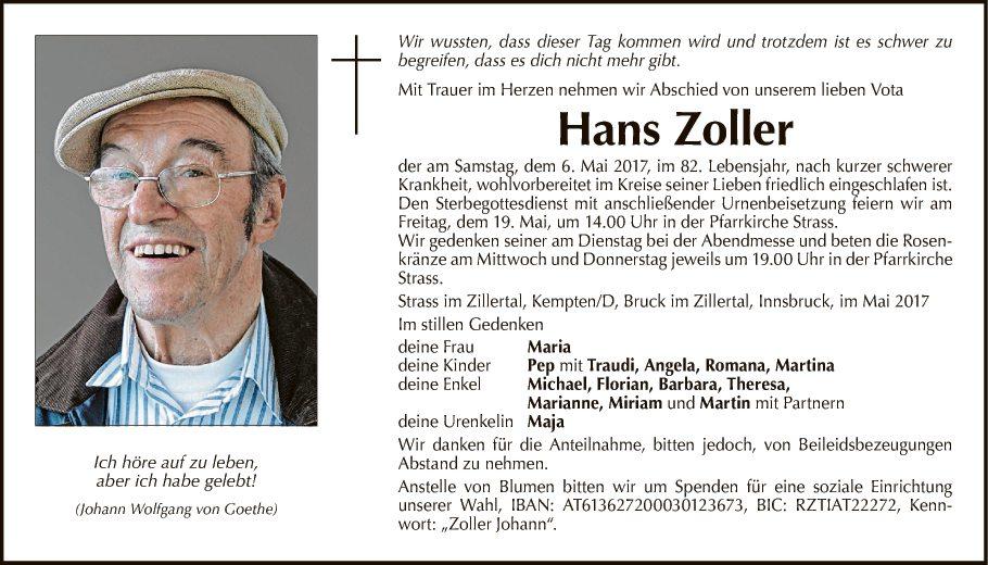 Hans Zoller