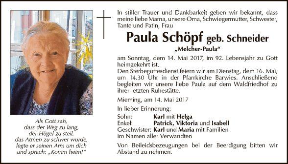 Paula Schöpf