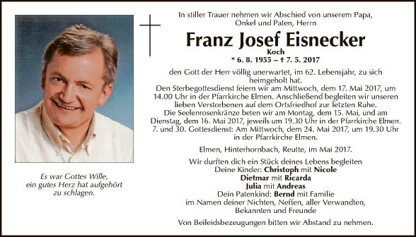 Franz Josef Eisnecker