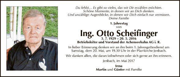Otto Scheifinger